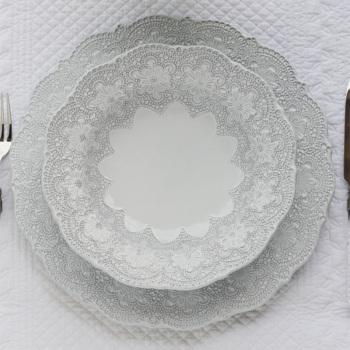 ANAIS スーププレート 25cm 【BLANC D'IVOIRE フランス】