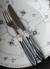 Laura Silver Ring(艶あり) ディナーカトラリー【RIVADOSSI SANDRO(リバドッシ・サンドロ) イタリア製カトラリー・輸入洋食器・シルバー】