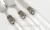 Venezia コーヒースプーン&ケーキフォーク【RIVADOSSI SANDRO リバドッシサンドロ イタリア製 カトラリー 輸入洋食器 シルバー ステンレス ティースプーン コーヒースプーン ケーキフォーク クリア おしゃれ おもてなし パーティー】
