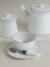 FRISO WHITE フリッソ ティーカップ&ソーサー【COSTA NOVA コスタノバ ポルトガル 輸入洋食器 白い食器 陶磁器 セット 食洗機可 電子レンジ可 オーブン可 フリーザー可 おしゃれ おもてなし ティータイム 業務用】
