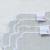 【クリックポスト便可】【メール便可】レクタングル コースター 6色【LA GALLINA MATTA ラガッリーナマッタ イタリア製 コースター 敷物 布 リネン 麻 撥水加工】