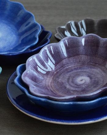 ベーシック オイスターボウル(楕円深皿) 7色 E362A【MATEUS マテュース スウェーデン ポルトガル製 北欧食器 陶器 輸入洋食器 ハンドメイド 楕円 オーバル 食洗機可 電子レンジ可 おしゃれ おもてなし パーティー】