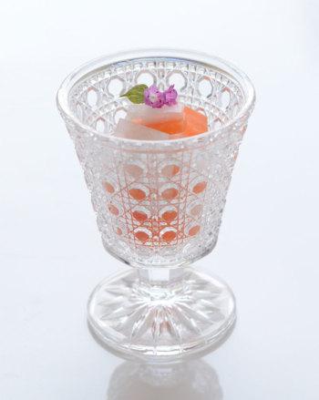 籠目高杯 クリア 188 410102【ガラス食器 硝子 グラス アミューズカップ オードブル 和食器 おしゃれ 父の日ギフト】