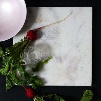天然石 24cmスクエアプレート 2色 342 R30【和食器/洋食器/おしゃれ/和モダン/おもてなし/角皿/平皿/フラットプレート/マーブル模様/大理石模様】