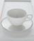 PEARL WHITE パール ティーカップ&ソーサー【COSTA NOVA コスタノバ ポルトガル 輸入洋食器 白い食器 セット おしゃれ かわいい おもてなし 日常使い ティータイム 陶器 食洗機可 電子レンジ可 オーブン可 フリーザー可】