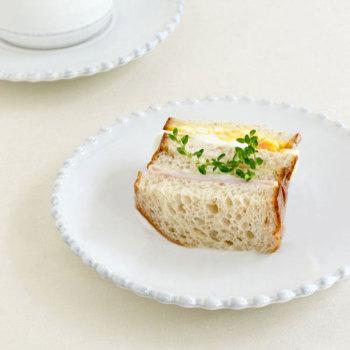 PEARL WHITE パール ブレッドプレート PEP173【COSTA NOVA コスタノバ ポルトガル 輸入洋食器 白い食器 おしゃれ おもてなし 食洗機可 電子レンジ可 オーブン可 フリーザー可 日常使い パーティー ティータイム】