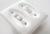 ご好評につき値下げ♪アメリカンスイッチプレート セラミック製2 ダブル【USA】陶器・磁器