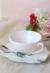 PETALE WHITE ペタル カップ&ソーサー【COTE TABLE コテ ターブル フランス コーヒーカップ ティーカップ フレンチカントリー 輸入洋食器】