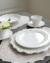 Trianon blanc トリアノン ディナープレート【COTE TABLE コテ ターブル フランス ディナー皿 フレンチカントリー 輸入洋食器】