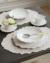Trianon blanc トリアノン スーププレート【COTE TABLE コテ ターブル フランス スープ皿 パスタ フレンチカントリー 輸入洋食器】