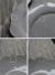 PETALEGRAYペタルスーププレート【COTE TABLE(コテターブル)/フランス/フレンチカントリー/輸入洋食器/陶器食器/食洗機可/電子レンジ可/グレー/お花/スーププレート/スープ皿/スープボウル/ボール/