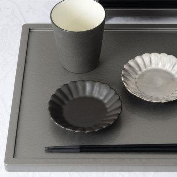 イタリア 菊割小皿 YSI-0048【Y's home style/やま平窯/有田焼/磁器/和食器/和モダン/おしゃれ/日本製/made in japan】
