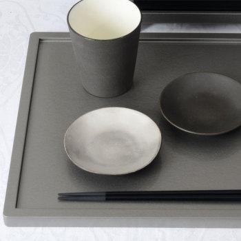 イタリア 小皿 ピューター YSI-0061【Y's home style/やま平窯/有田焼/磁器/和食器/和モダン/おしゃれ/日本製/made in japan】